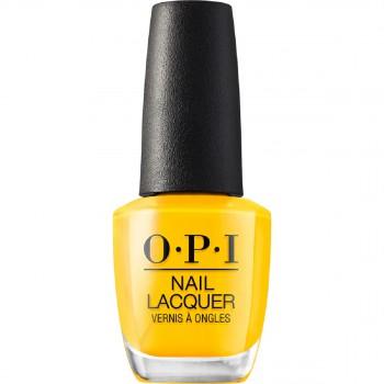 OPI指甲油黄色系
