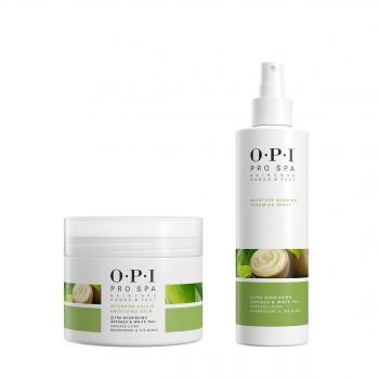 OPI可可白茶角質軟化嫩滑膏(足部)118ml惠選套裝