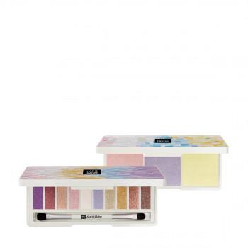 玛丽黛佳色彩工作室偏光派对眼影盘+高光盘惠选套装