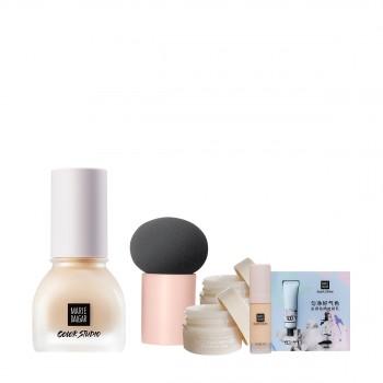 玛丽黛佳色彩工作室凝脂梦想粉底液 NU02 惠选套装